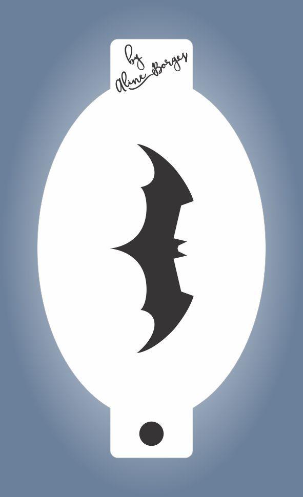 Stencil Morcego Batman