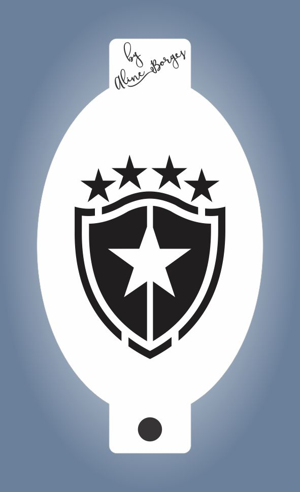 Stencil Time Botafogo