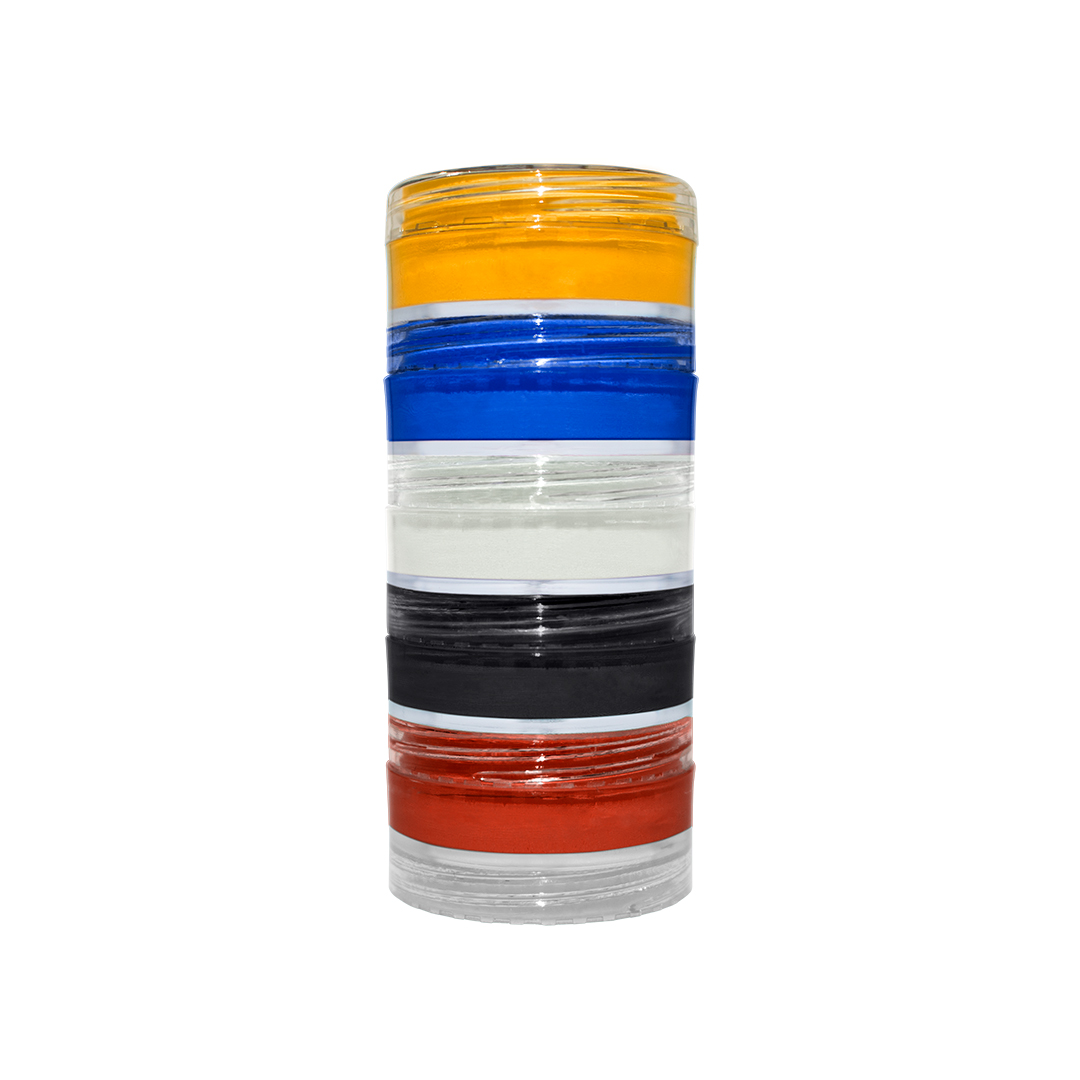 Torre de Mini Aqua C/ 5 Cores Primarias Colormake