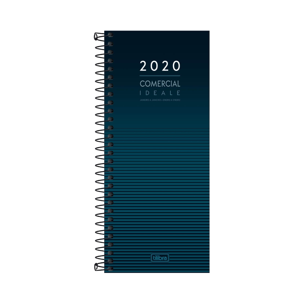 Agenda Executiva Espiral Diária Comercial Ideale 2020 Tilibra