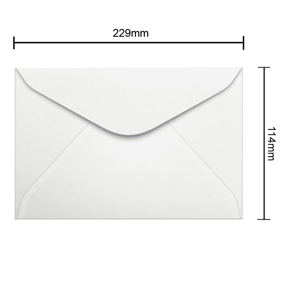 Envelope 114mm x 229mm 90g 500 und Ipecol