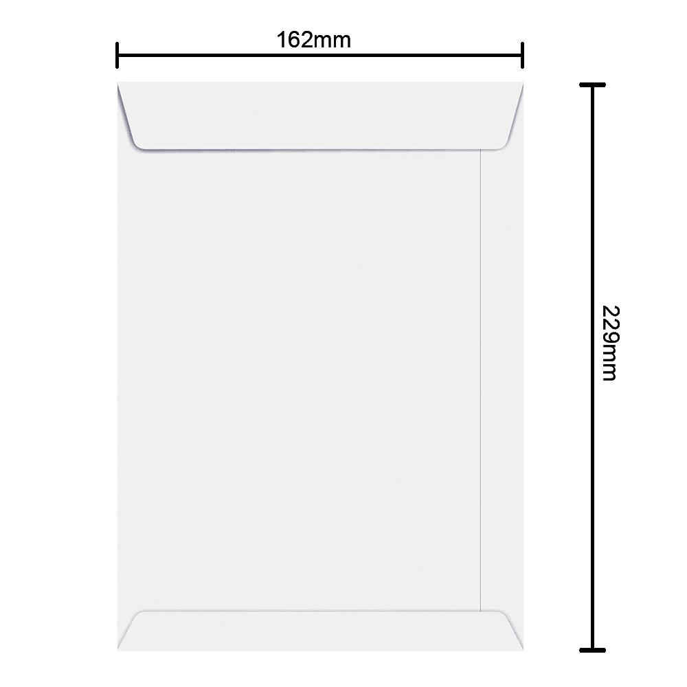 Envelope 162mm x 229mm 90g 250 und Ipecol