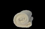 Cobertor Microfibra Bebê Liso Off White