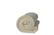 Cobertor Microfibra Infantil Liso Off White