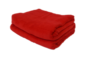 Cobertor Microfibra Plush Vermelho
