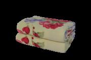 Cobertor Ultrasoft Floral Rosas Colombianas