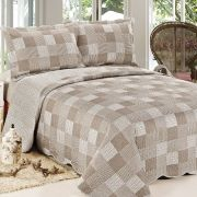 Colcha Patchwork  Nevasca