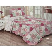 Colcha Patchwork  Infantil Kitty
