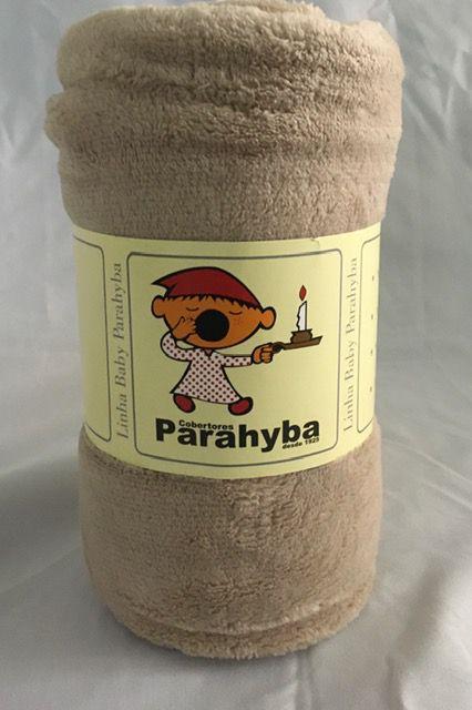 Cobertor Microfibra bebe Bege - PROMOÇÃO - KIT 2 PEÇAS