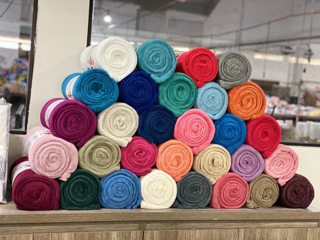 Cobertor Microfibra Plush - KIT 4 Peças