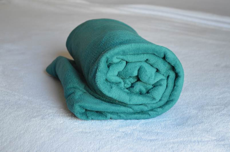 Cobertor Microfibra Plush Verde Esmeralda