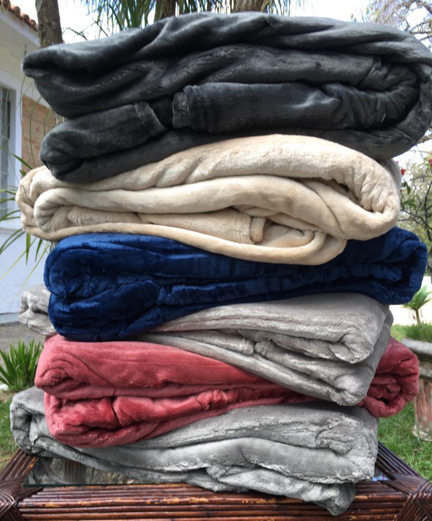 Cobertor Mink Luxo Super Soft Velour