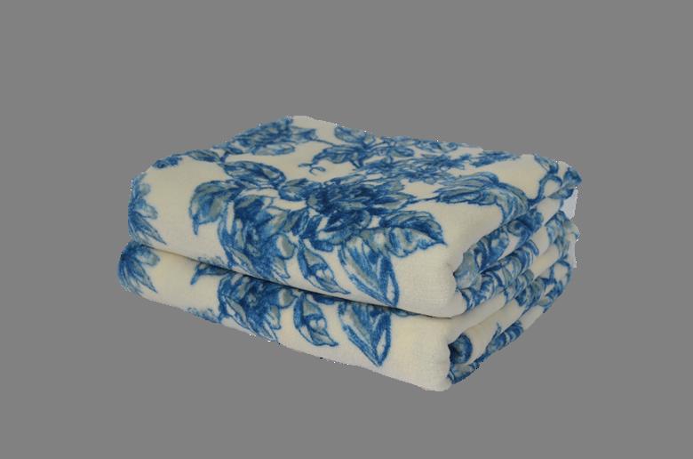 Cobertor Ultrasoft Floral Astromélias