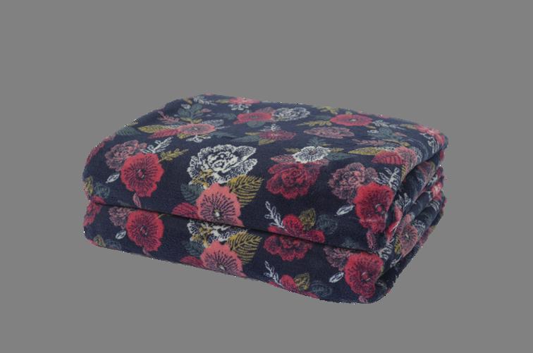 Cobertor Ultrasoft Floral Buquê