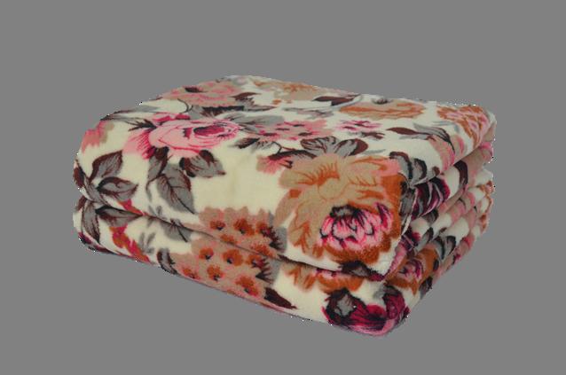 Cobertor Ultrasoft Floral Crucias