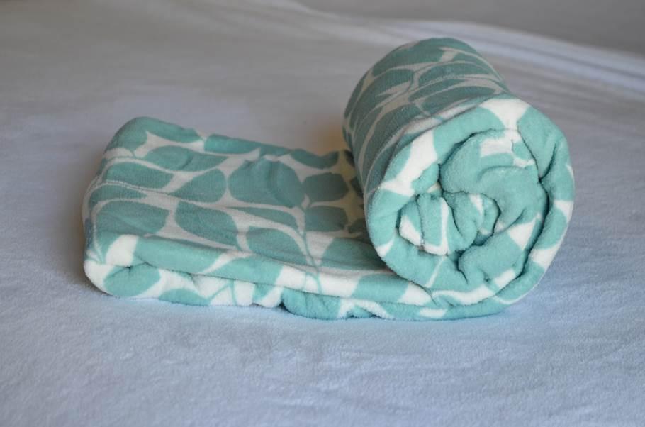 Cobertor Ultrasoft Folhas
