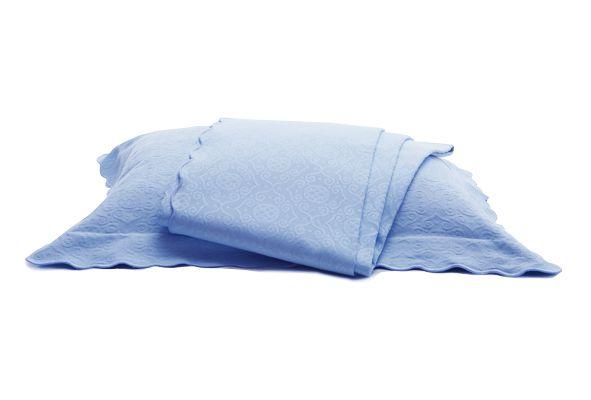 Colcha Capela Azul Blu Luigi