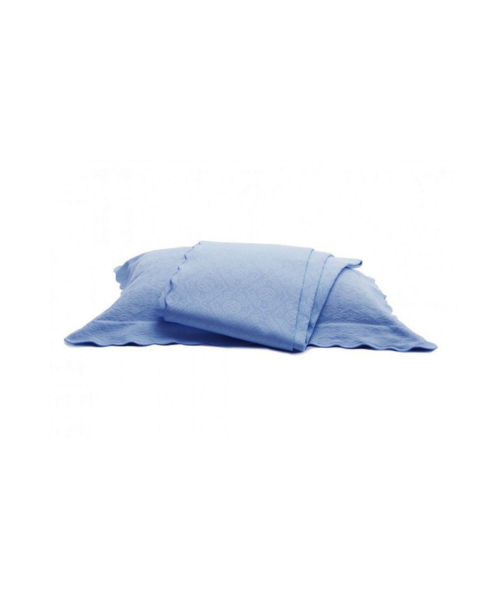 Kit Colcha Capela Azul Blu Luigi