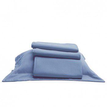 kit Colcha Spina Azul Blu Luigi