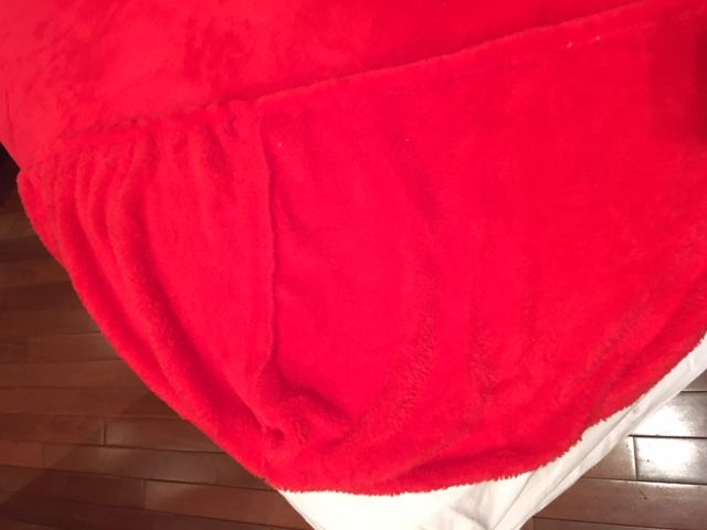 Lençol Avulso Plush em Microfibra Vermelho