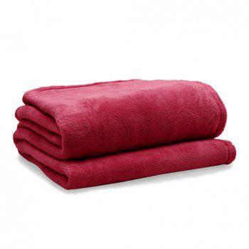 Manta Softfleece Vermelha