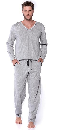 Pijama Malha Casual