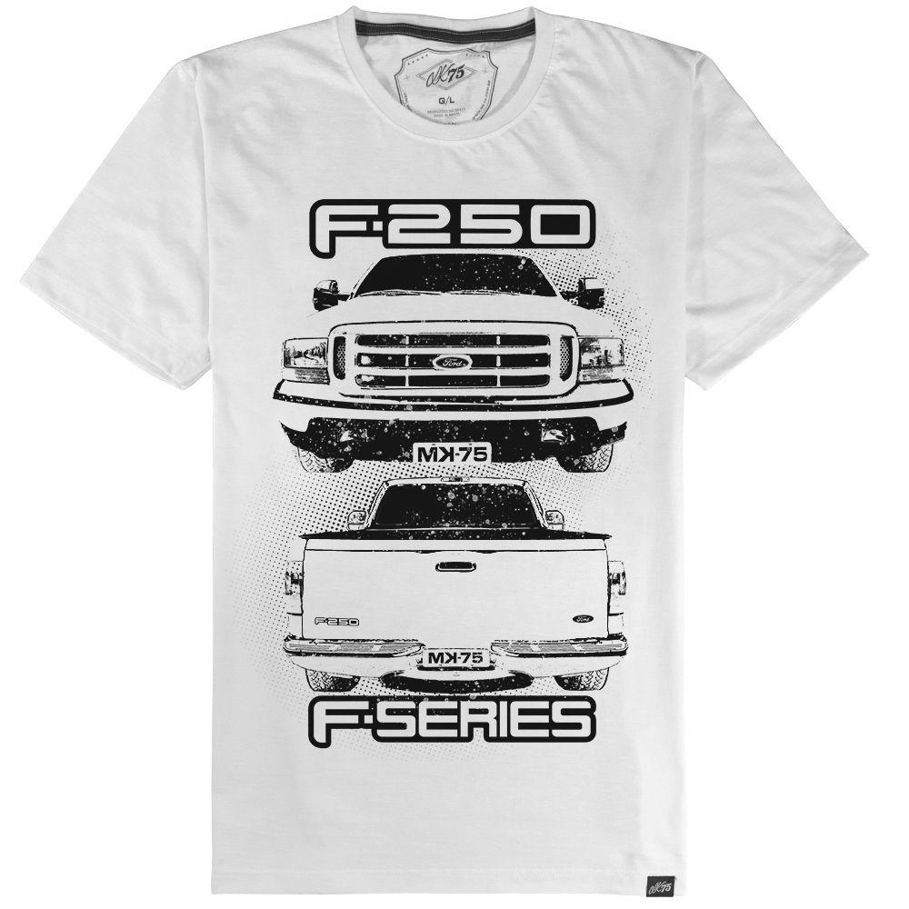Camiseta F-250 / F-Series - Branca #02