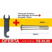 Alongador Para Torneira Chopp 5/8 Kegerator 150mm