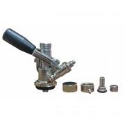 Válvula Extratora Keg Com Tampão e Espigão Para Carbonatação
