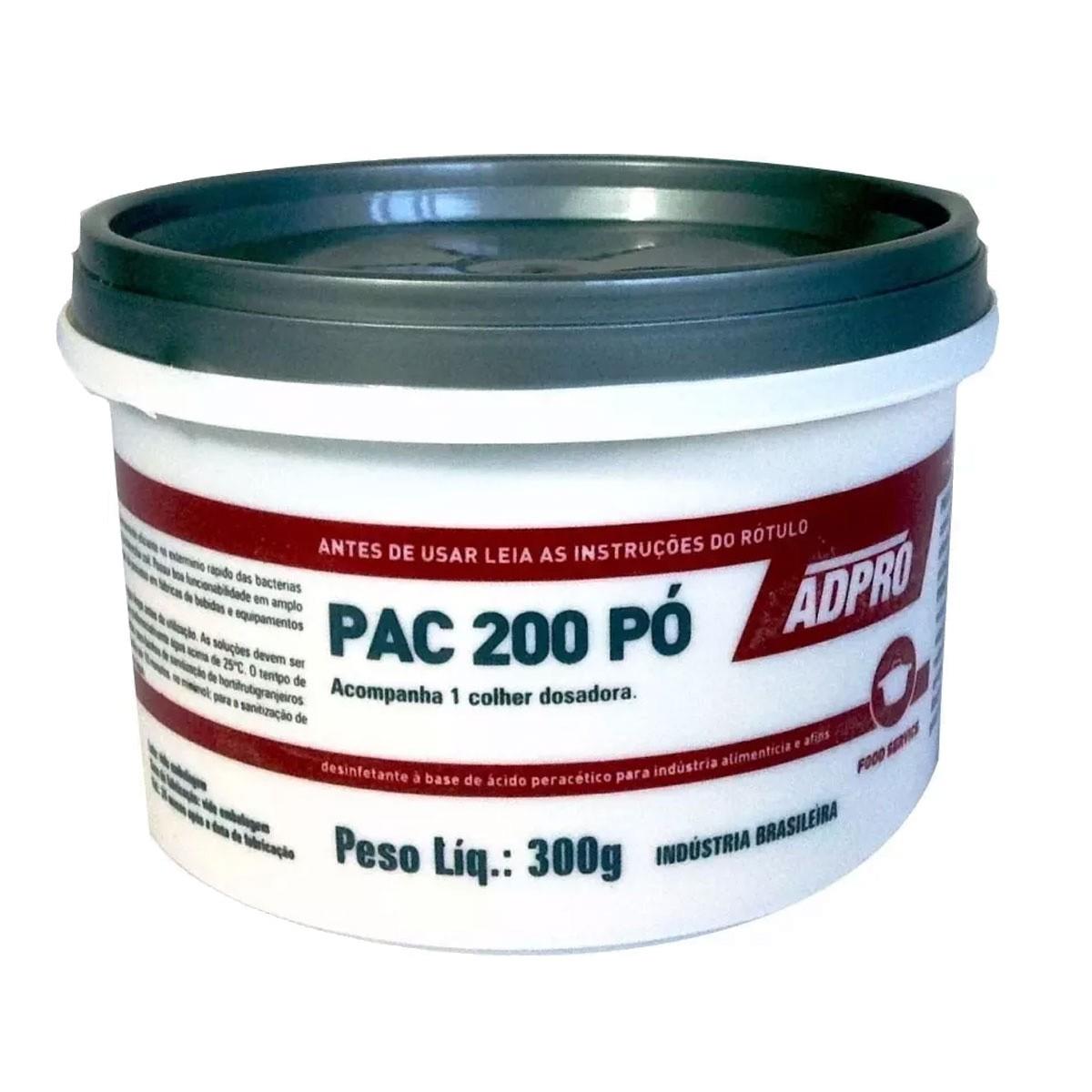 Assepsia Em Pó Pac 200 Desinfetante Chopeiras