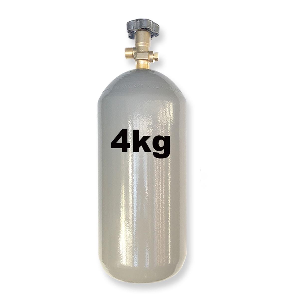 Cilindro de Co2 Para Chopp ou Aquário - 4 Kg
