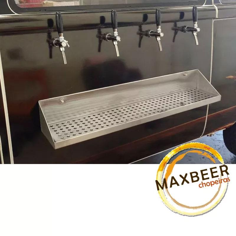 Kit Beer Truck Com Resfriador A Gelo 4 Vias Chopp Completo
