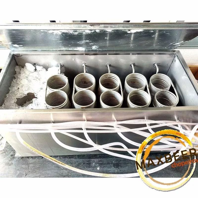 Kit Beer Truck Com Resfriador A Gelo 6 Vias Chopp Completo