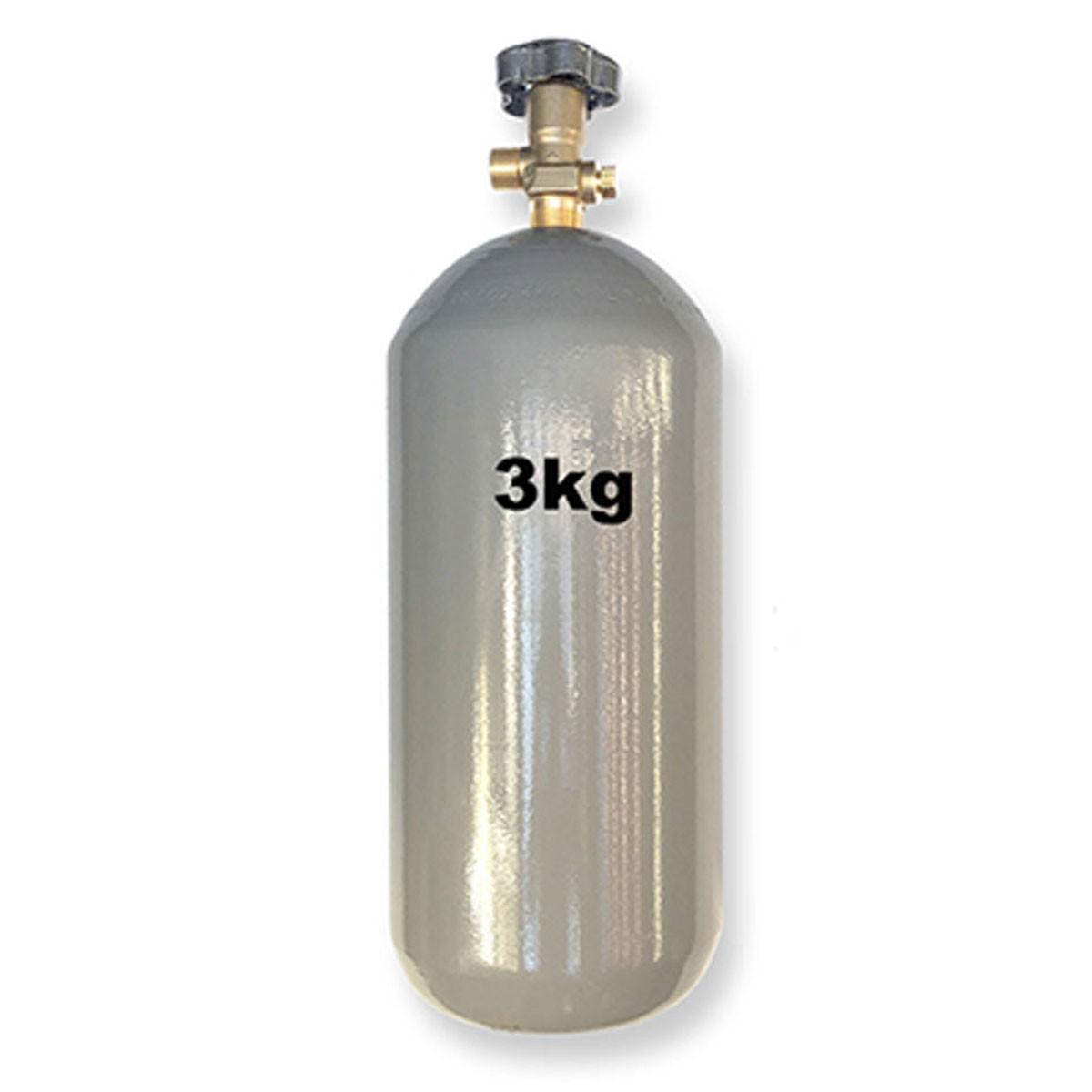 Kit Extração 1 Via + Cilindro Co2 3Kg Para Chopp Ou Cerveja Artesanal