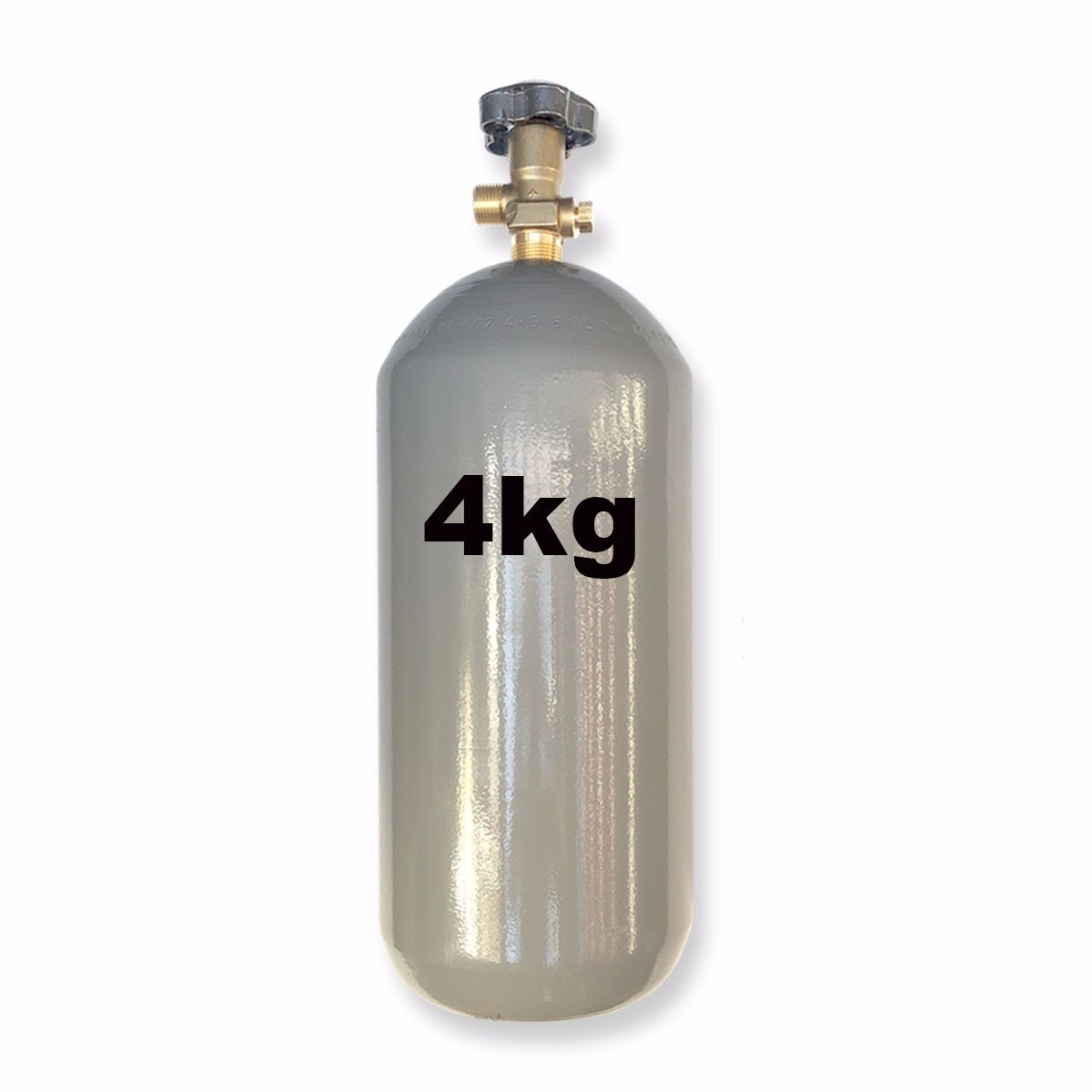 Kit Extração 3 Vias + Cilindro Co2 4Kg Para Chopp Ou Cerveja Artesanal
