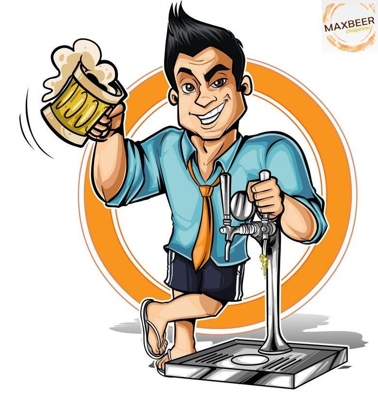 Kit Extração 4 Vias + Cilindro 3Kg Para Chopp Ou Cerveja Artesanal