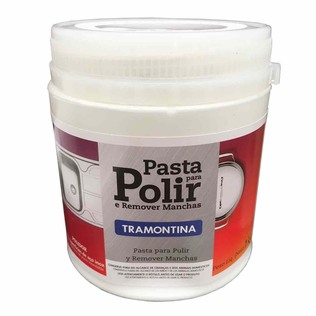 Pasta de Limpeza Para Polir Inox - Tramontina
