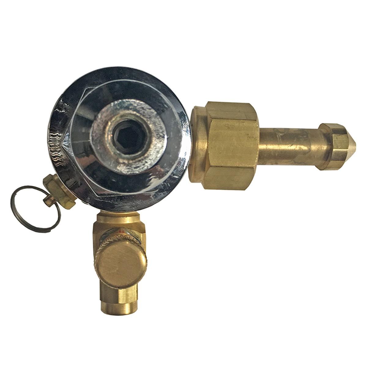 Regulador de Pressão de Co2 Pré Calibrado 1 Via Para Chopp ou Cerveja Artesanal