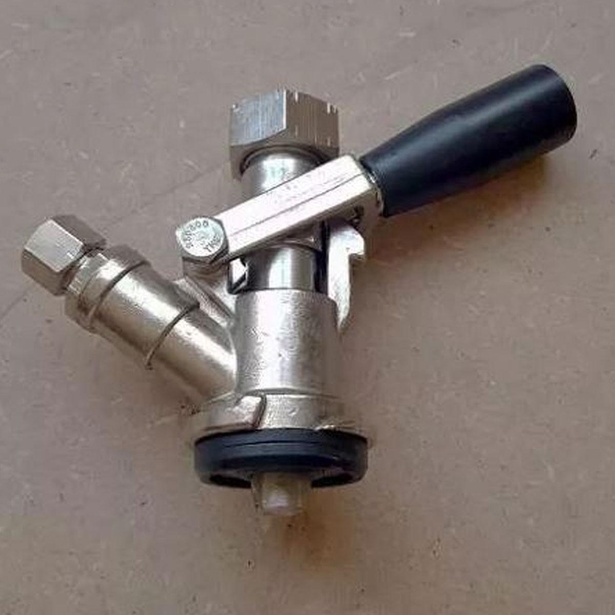 Válvula Extratora Keg Original Com Tampão Para Carbonatação