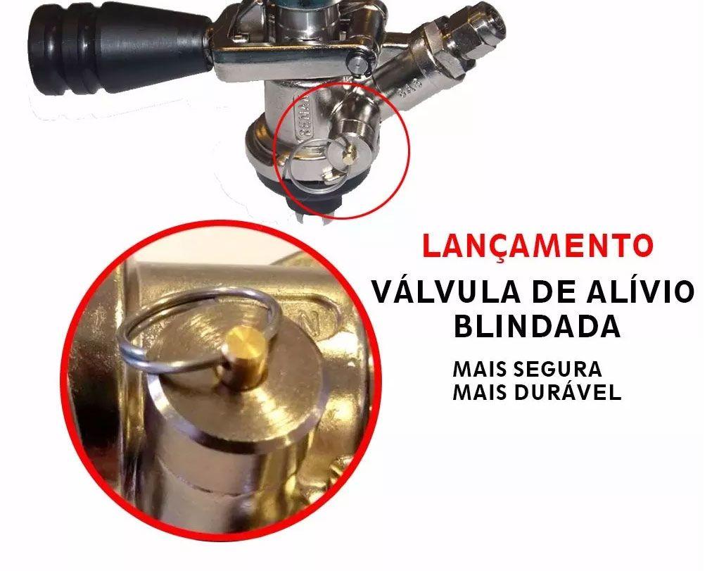 Válvula Extratora Original Para Chopeira ou Cerveja Artesanal + Itens