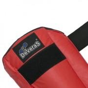 Caneleira amador com proteção sintético vermelha Deveras