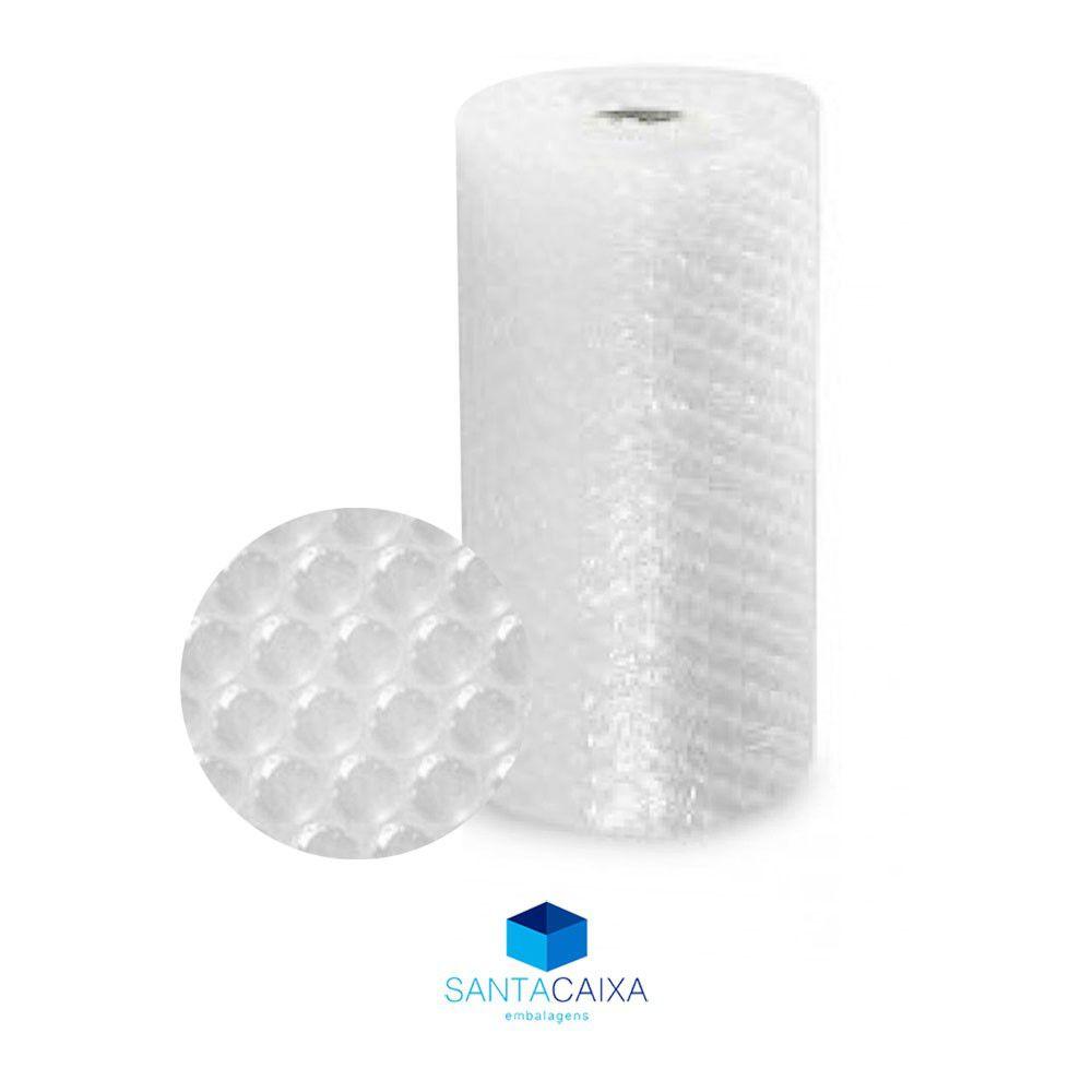 Bobina Plástico Bolha Pequena - 0,65X50m