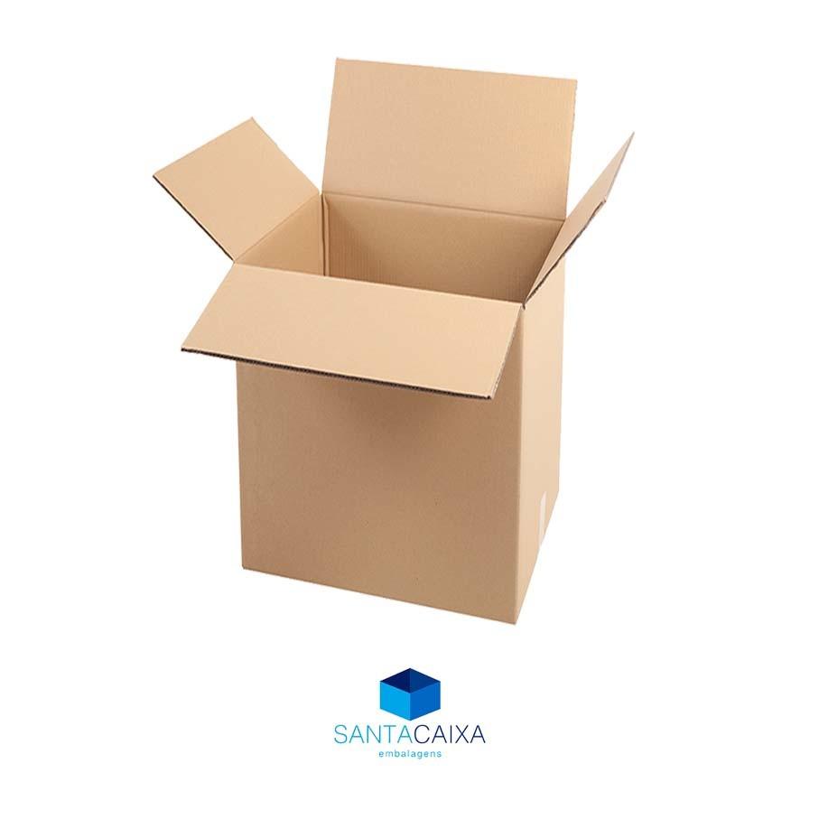 Caixa de papelão Reforçada 2 Ondas BLX1 - Pcte 5 unid.