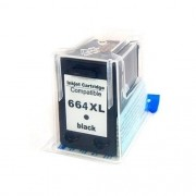 Cartucho de Tinta Compatível HP 664xl Preto | 14ml - Novo Linha Premium