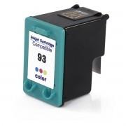 Cartucho de Tinta Compatível HP 93 Colorido   14ml - Novo Linha Premium