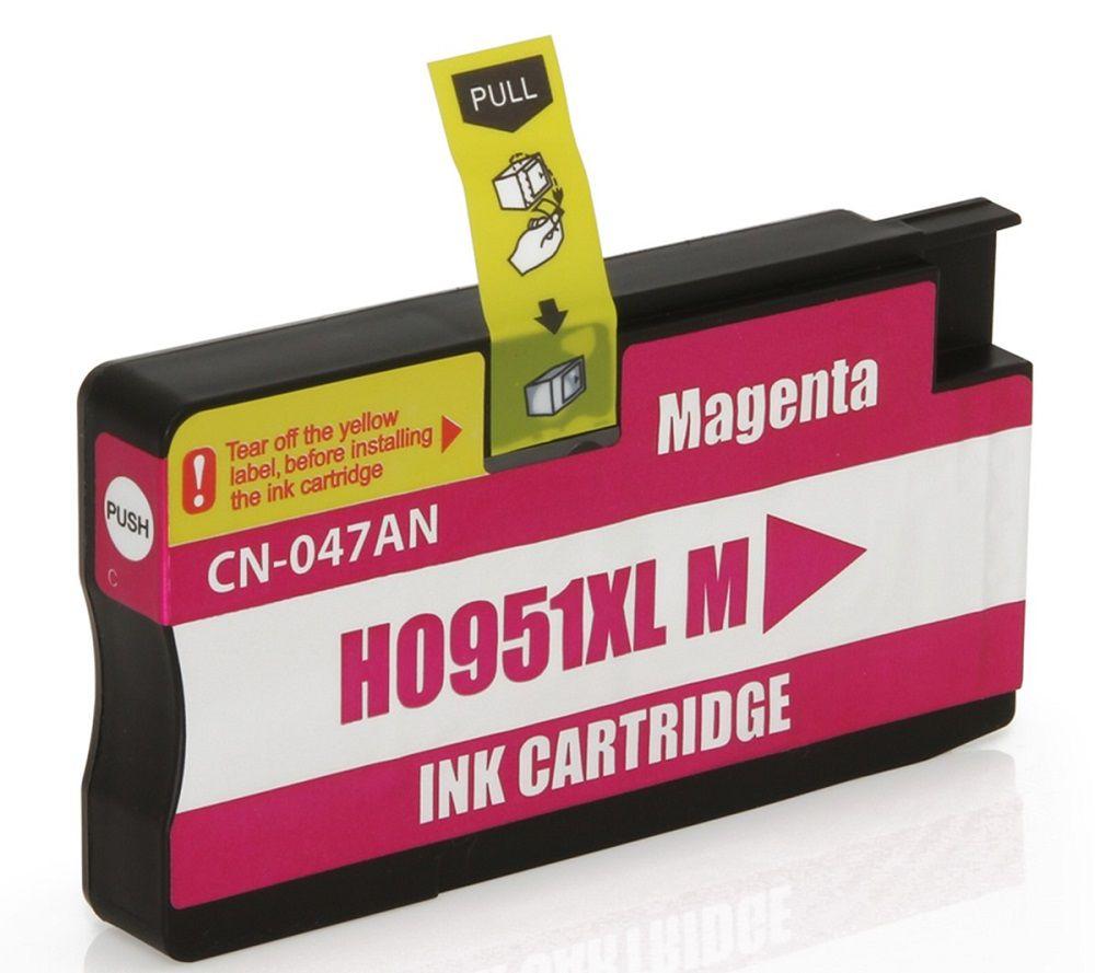 Cartucho de Tinta Compatível com HP 951XL 951 CN047A Magenta | Officejet Pro 8600W 8100 8610 | 20ml