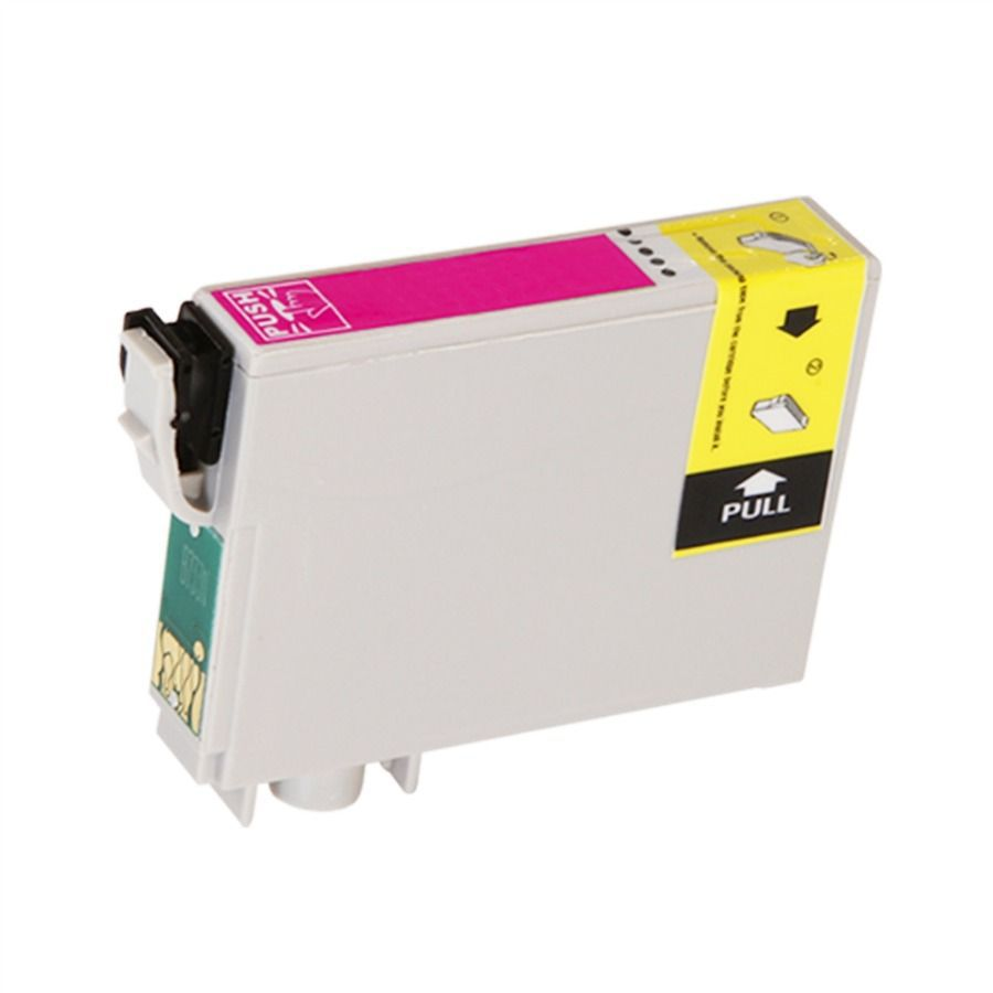 Cartucho de Tinta Compatível Epson 63 Magenta T063320 T0633 T063 12ml | C67 C87 CX3700 CX7700