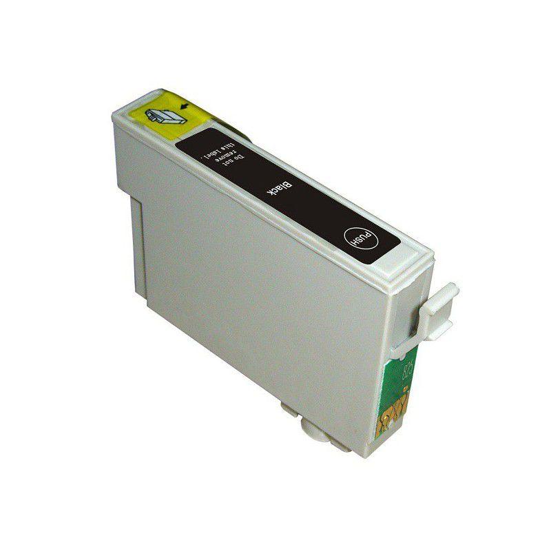 Cartucho de Tinta Compatível Epson 63 Preto T063120 T0631 T063 12ml | C67 C87 CX3700 CX7700