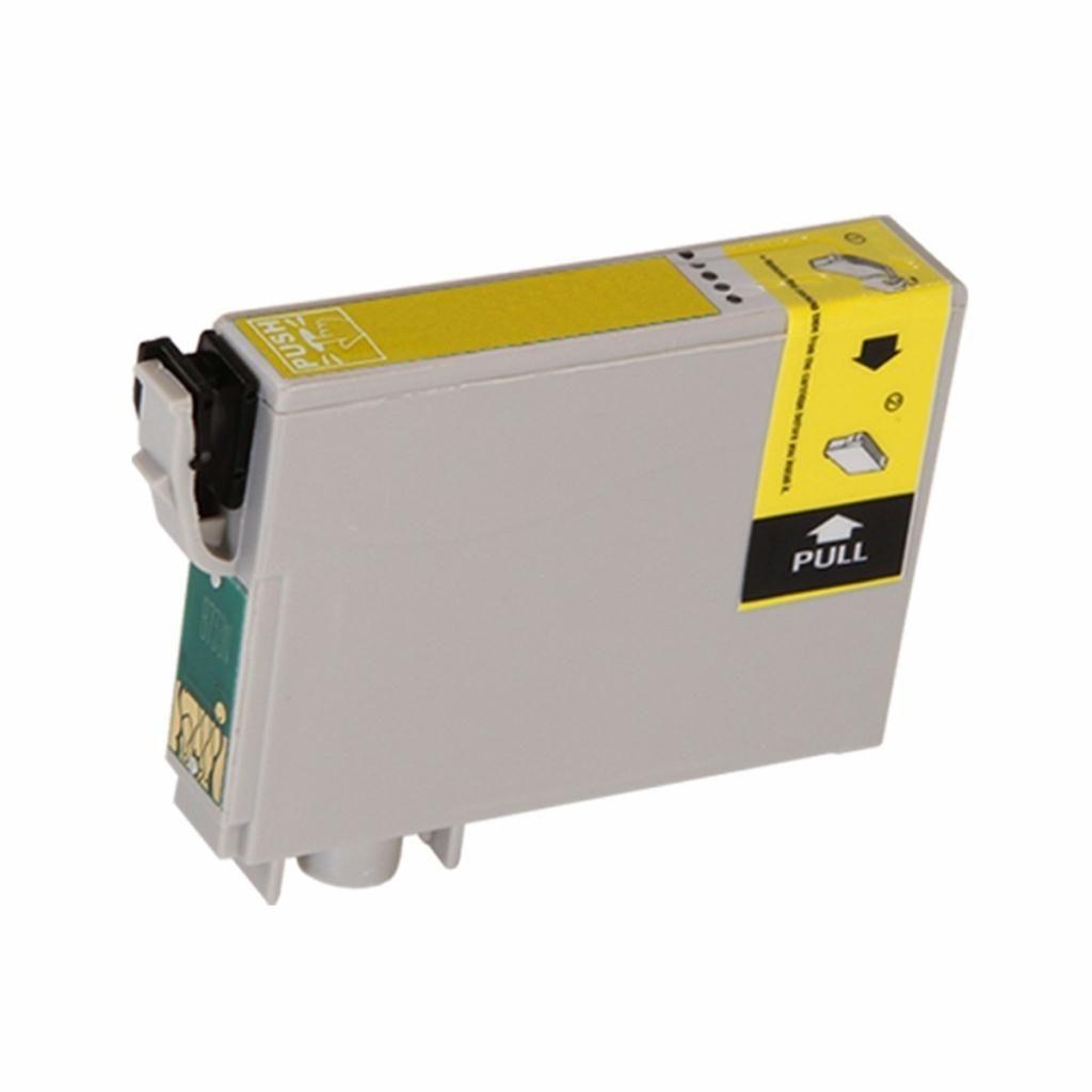 Cartucho de Tinta Compatível Epson 73 Amarelo T073420 T073 73N 12ml | T10 T20 TX200 TX209 TX210 CX7300