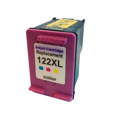 Cartucho de Tinta Compatível HP 122xl Colorido | 13ml - Novo Linha Premium